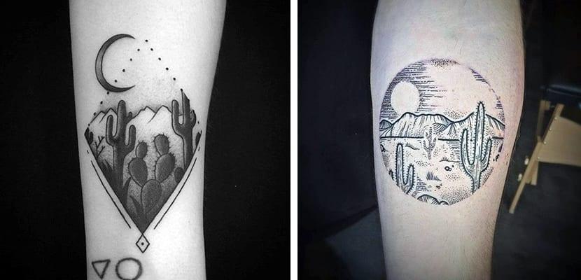Tatuajes de paisajes