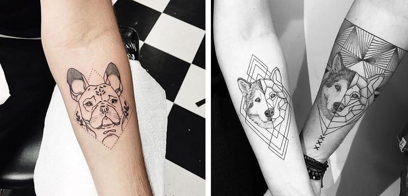 Tatuajes con formas geométricas