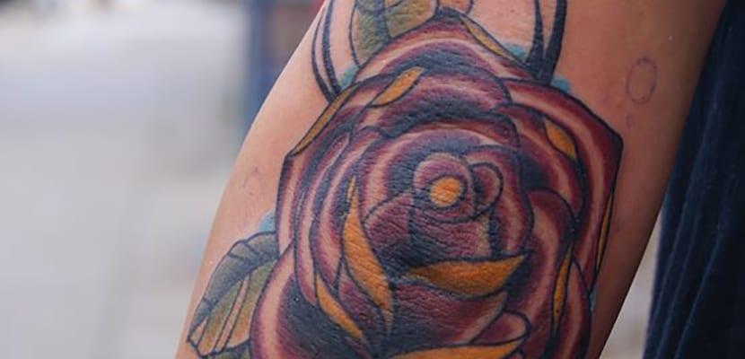 Tatuaje floral