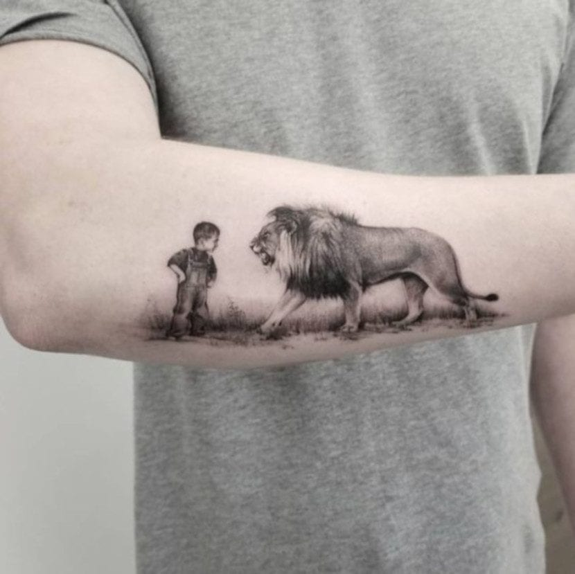 Tatuajes de animales realistas