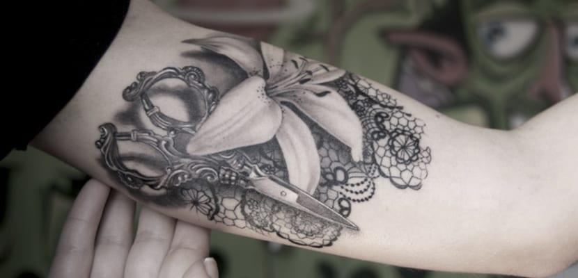 Tatuajes de tijeras