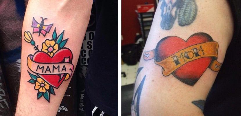 Tatuaje de madre
