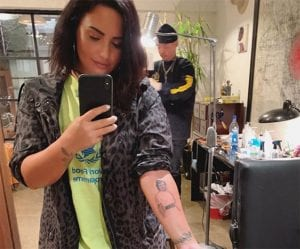 Tatuaje de Demi Lovato