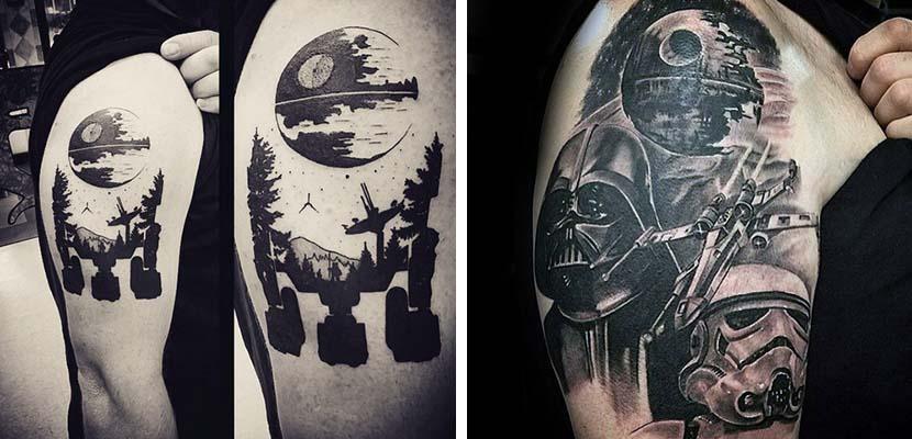 Tatuaje de la Estrella de la muerte