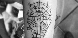 Tatuaje del Halcón milenario