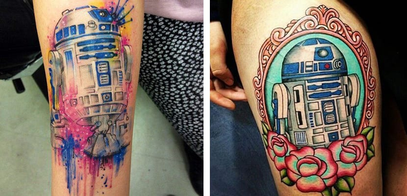 Tatuaje de R2D2