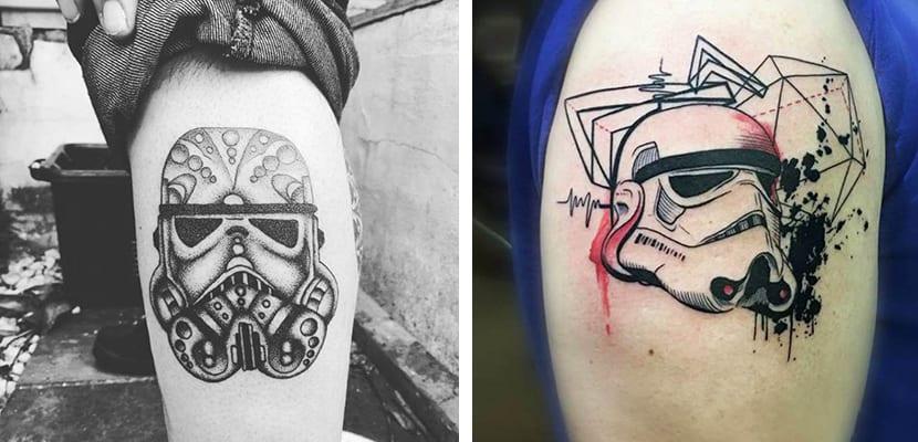 Tatuaje de soldado imperial