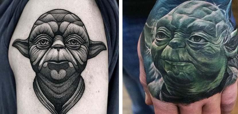 Tatuaje de Yoda