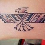 Tatuajes de pájaro del trueno