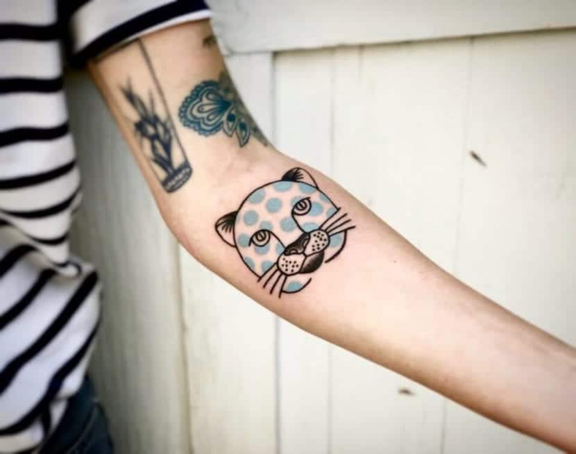 Tatuajes de tigres tradicionales moderno