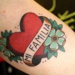 Tatuajes old school en el brazo