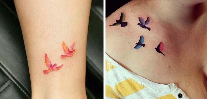 Tatuajes con colores