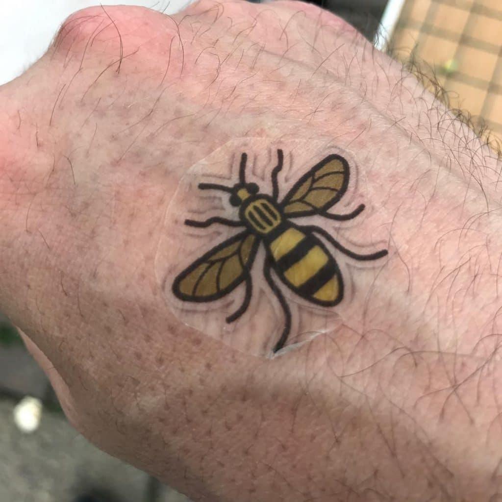 Cómo Hacer Tatuajes Temporales Abeja