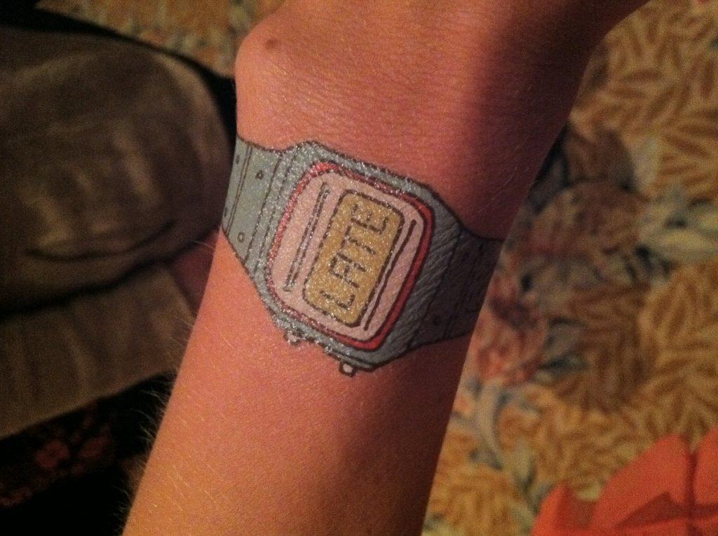 Cómo Hacer Tatuajes Temporales Reloj