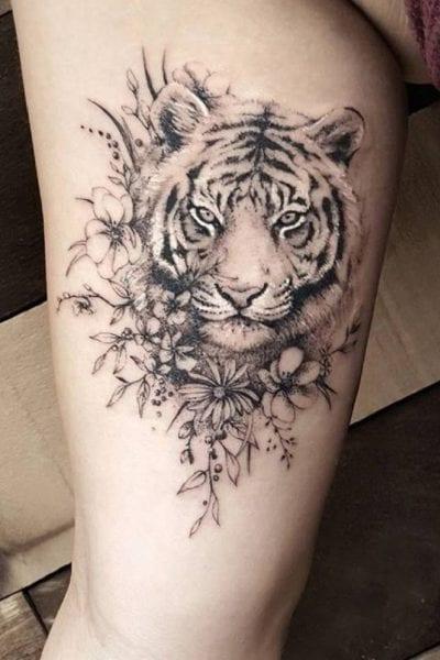 significado tatuajes de tigre