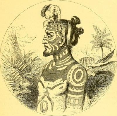 Tatuaje samoano cara