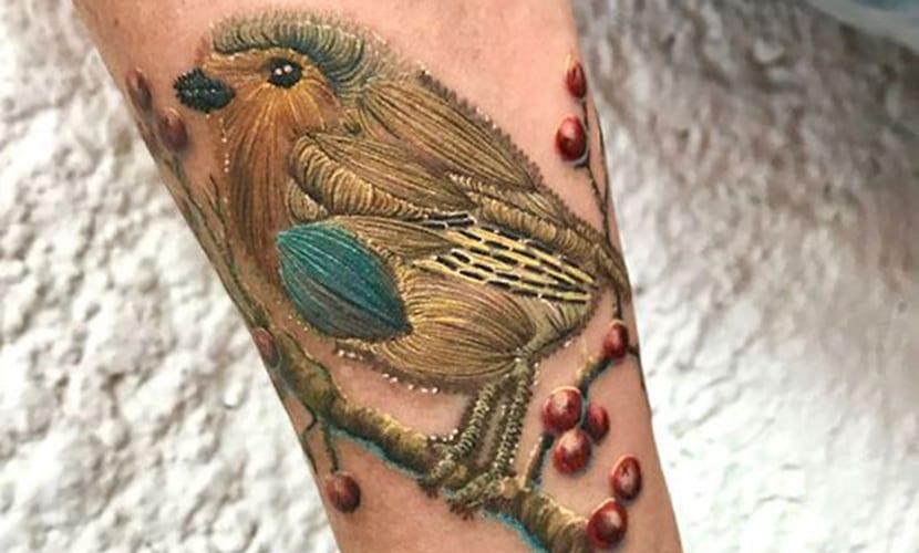 Tatuajes bordados
