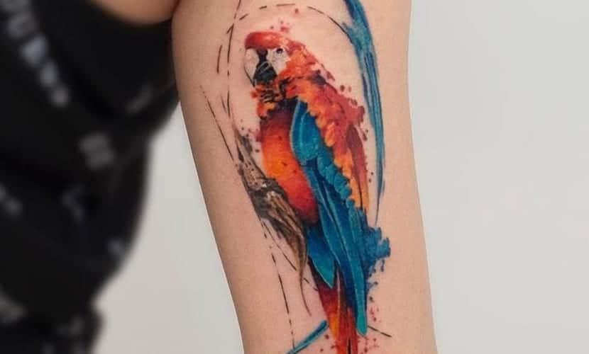 Tatuajes de loros