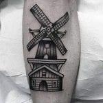 Tatuajes de molinos de viento