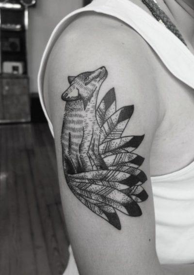 Tatuajes de zorro colas