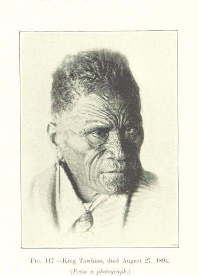 Tatuajes faciales maorí
