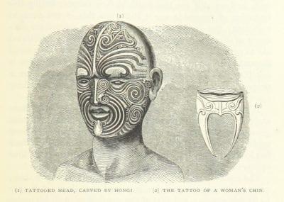 Tatuajes faciales Nueva Zelanda