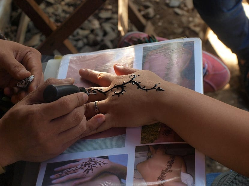 Tatuajes Henna