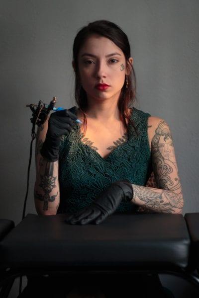Cómo ser Tatuador verde