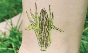 Tatuajes de mazorcas de maíz