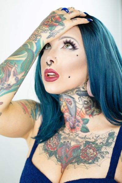 Tatuajes en el Labio rojo