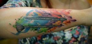 Tatuajes de pinceles