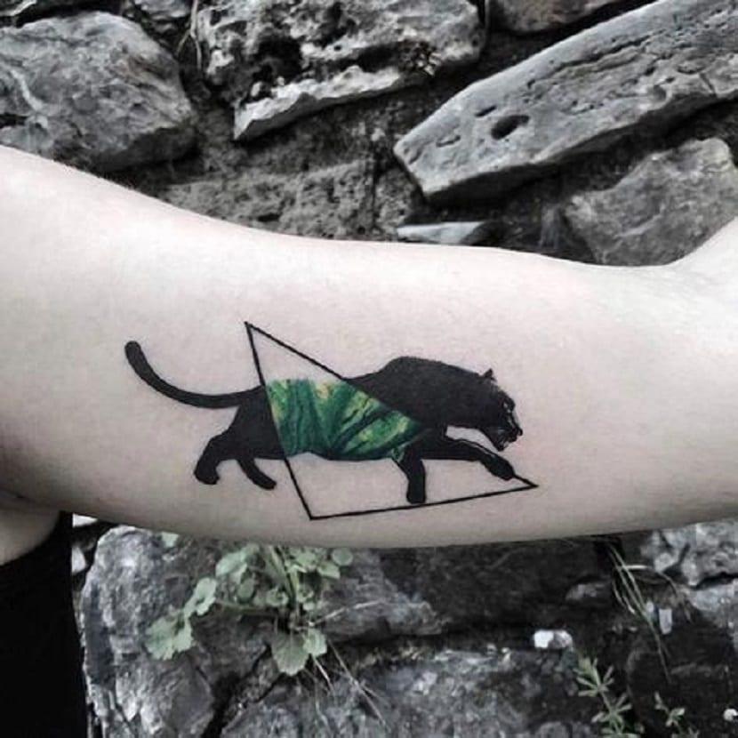 panteras tatuaje brazo