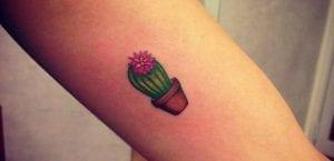 Tatuaje de cactus