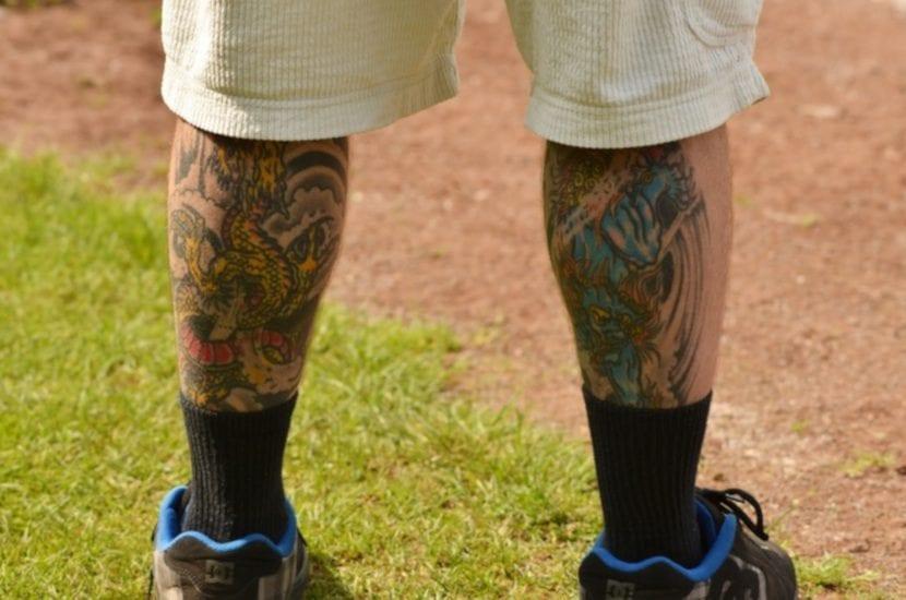Tatuaje en el Gemelo dos