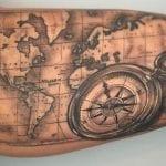 Tatuajes de mapas