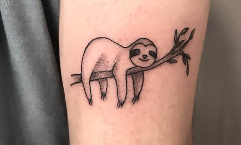 Tatuajes de perezosos