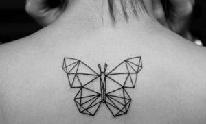 Tatuajes sencillos de mariposas