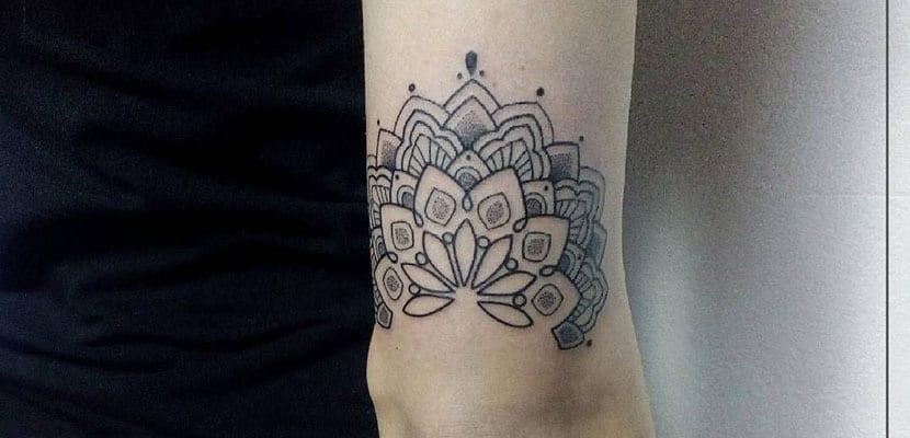 Tatuaje con mandala