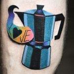 Tatuajes de cafeteras