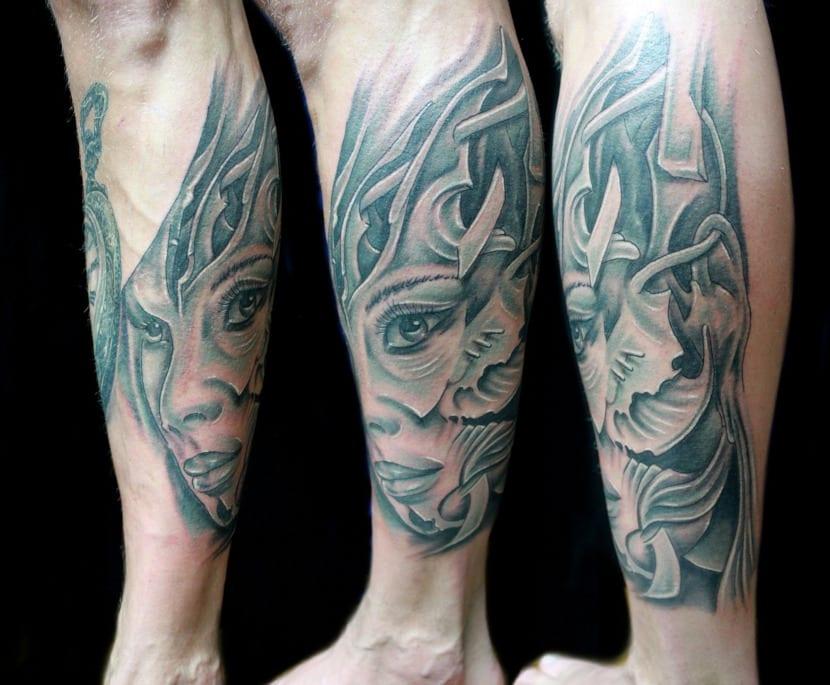 Tatuajes de Guerrera
