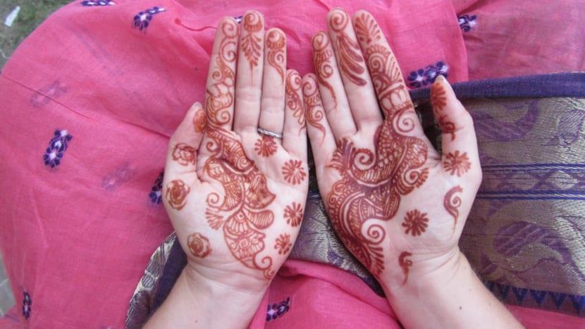 Tatuajes de Henna Natural