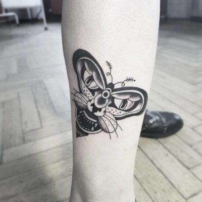 Tatuajes de Mariposa tigre
