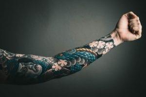 Tatuajes Japoneses en el Brazo