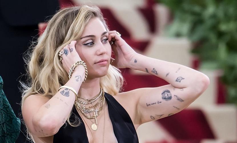Tatuaje de Miley Cyrus