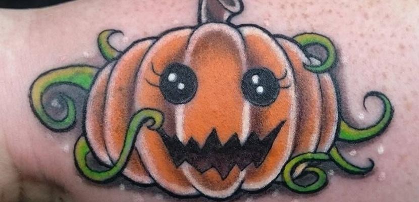 Tatuaje de calabaza