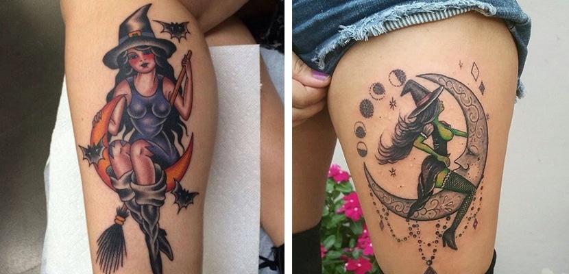 Tatuajes de brujas
