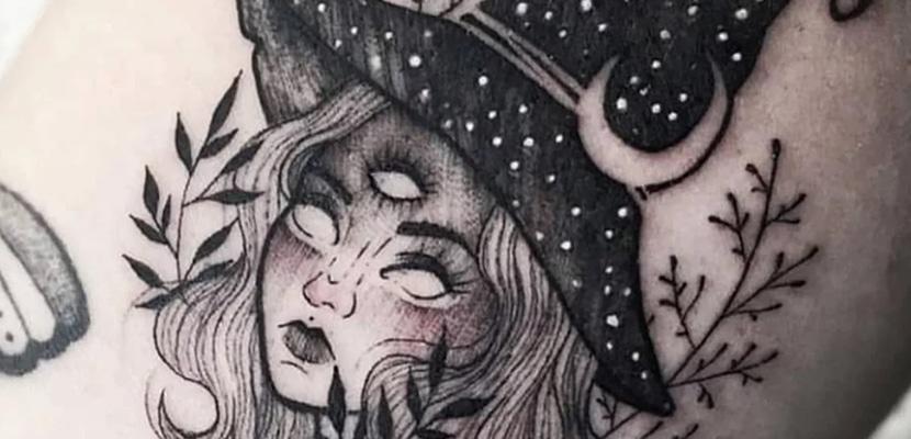 Tatuaje de bruja