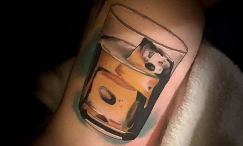 Tatuajes de bebidas
