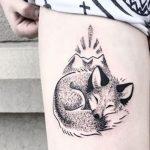 Tatuajes de coyotes