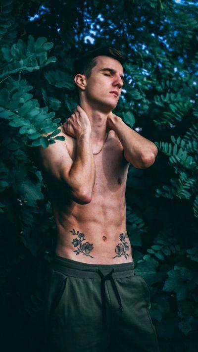 Tatuajes en el Vientre bosque